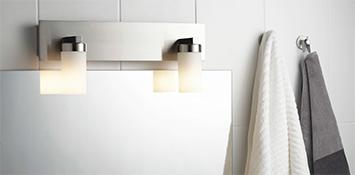 Verlichting per ruimte - Badkamer