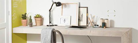 Steigerhouten meubelen maken - Bureau