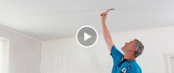 Beeld: stucwerk plafond plamuren