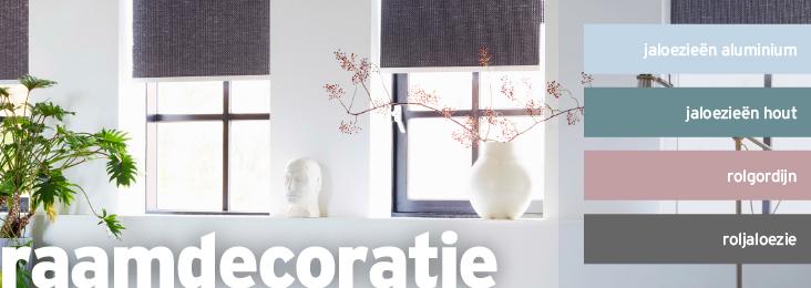 kleurenpallet raamdecoratie
