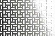 Radiatorbekleding - uitgestanst aluminium