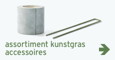 Tuin - assortiment - kunstgras accessoires