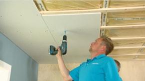 Gipsplaten plafond maken: stappenplan | GAMMA