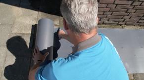 Stap 5: buitenmuren schilderen