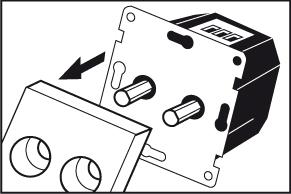 Stap 5 - duo-dimmer monteren