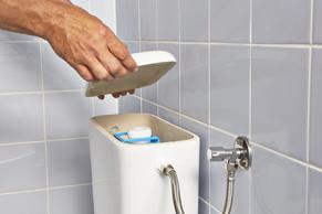 Binnenwerk Toilet Reservoir : Lekkende vlotterkraan vervangen of repareren gamma