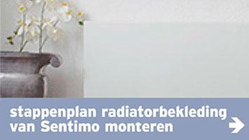 Radiatorbekleding - naviafb stappenplan radbekl sentimo monteren