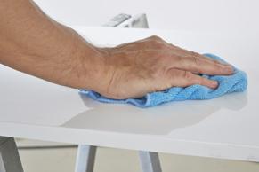 Stap 3: keukenkastjes verven