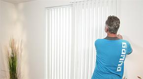 Raamdecoratie opmeten - Verschil in de dag of op de dag