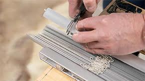 Jaloezie aluminium idd - lamellen op maat knippen