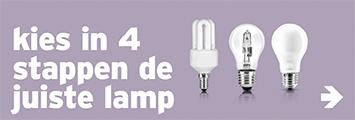 Verlichting - keuzehulp lamp