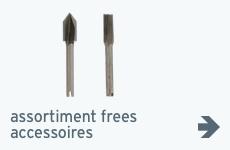 Beeld - assortiment - accessoires freesmachines