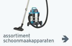schoonmaakapparaten