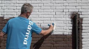 Stap 7: buitenmuren schilderen