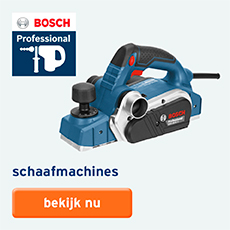 Bosch Professional - assortiment - Schaafmachines