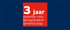 Bosch Professional - 1+2 jaar garantie