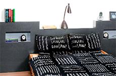 Meubels van hout maken - Hoofdeinde bed