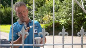 Stap 6: metalen tuinhek schilderen