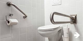 zorgeloos wonen - Aanpassingen in badkamer of toilet