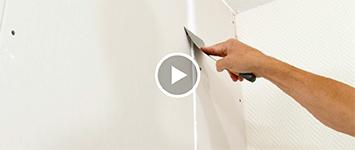 Beeld: gipsplaten muur plamuren