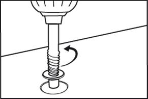 Beschadigde schroef verwijderen - schroefverwijderset - stap 2
