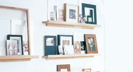 Muur Plank Voor Schilderijen.Plank Voor Fotolijstjes Gamma