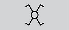 Schakelaars - Kruisschakelaar symbool