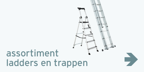 Assortiment: ladders en trappen