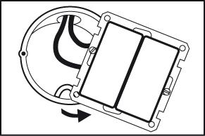 Stap 2 - Duo-dimmer monteren