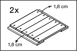 Stap 3 kast maken van steigerhout
