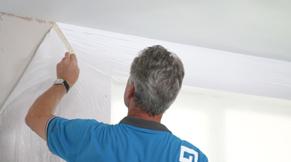 Verwijder na het schilderen direct de schilderstape.