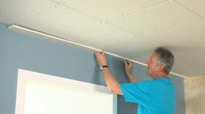 Maken with plafond uitrachelen for Vlizotrap plaatsen