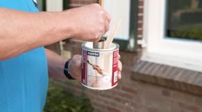 Stap 2: buitenmuren schilderen