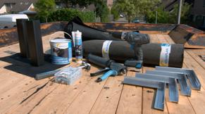 EPDM - Voorbereiding bij nieuw dak