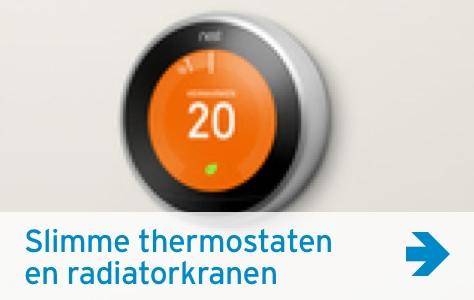 Slimme thermostaat en radiatorkranen