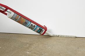 Stap 5 - Betonnen vloer verven