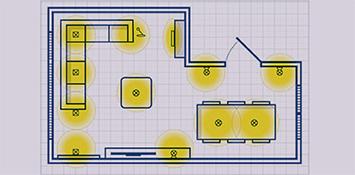 Lichtplan maken - stap 3