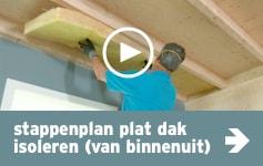 stappenplan-plat-dak-isoleren-van-binnen