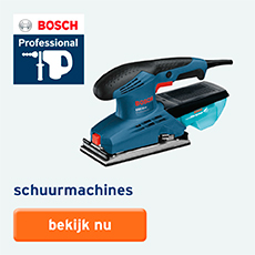 Bosch Professional - assortiment - schuurmachines